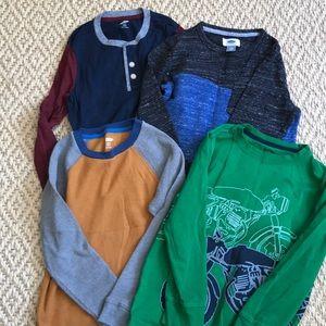 Boys Size Small Longsleeve Shirt Bundle